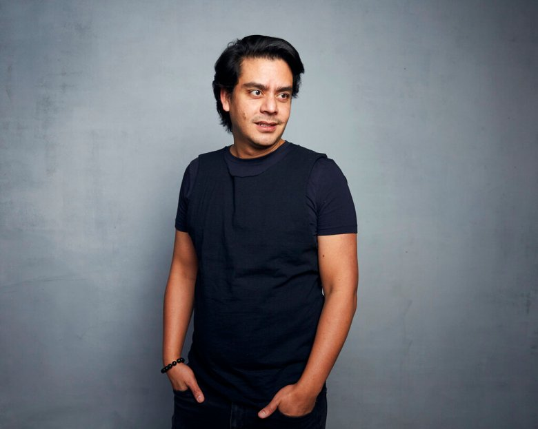 "FILE - Writer/director Jayro Bustamante poses for a portrait to promote the film ""La Llorona"" during the Sundance Film Festival in Park City, Utah on Jan. 27, 2020. The film is nominated for a Golden Globe for best foreign language film. (Photo by Taylor Jewell/Invision/AP, File)"