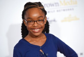 Marsai Martin arrives at the 41st annual Gracie Awards Gala at the Beverly Wilshire Hotel on Tuesday, May 24, 2016, in Beverly Hills, Calif. (Photo by Chris Pizzello/Invision/AP)