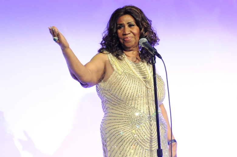 Aretha Franklin attends Fashion Group International's 2013 Night of Stars at Cipriani Wall Street, five years before her death at 76.