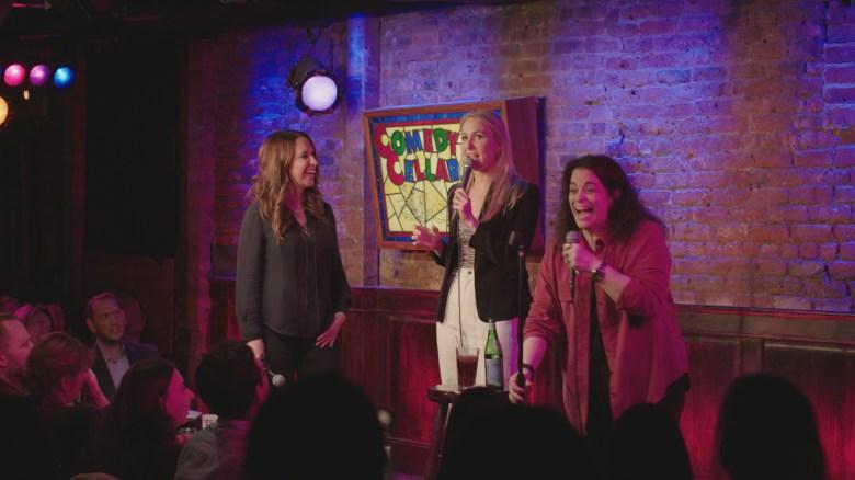 Rachel Feinstein, Nikki Glaser, and Jessica Kirson