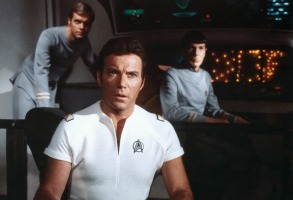STAR TREK: THE MOTION PICTURE, Stephen Collins, William Shatner, Leonard Nimoy, 1979, (c) Paramount Pictures / Courtesy: Everett Collection