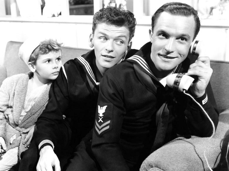 Dean Stockwell, Frank Sinatra, Gene Kelly