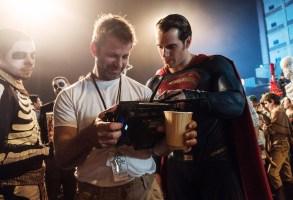 Zack Snyder, Henry Cavill