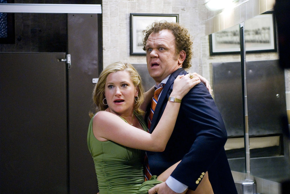 STEP BROTHERS, from left: Kathryn Hahn, John C. Reilly, 2008, © Columbia/courtesy Everett Collection