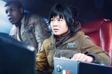 STAR WARS: THE LAST JEDI, (aka STAR WARS: EPISODE VIII - THE LAST JEDI), from left: John Boyega, Kelly Marie Tran, 2017. ph: Jonathan Olley /© Walt Disney Studios Motion Pictures / © Lucasfilm Ltd. /Courtesy Everett Collection