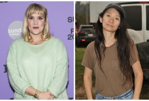 best director nominees Emerald Fennell and Chloé Zhao