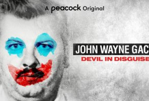 """DEVIL IN DISGUISE: THE UNTOLD STORY OF JOHN WAYNE GACY -- Pictured: """"Devil in  Disguise: The Untold Story of John Wayne Gacy"""" Key Art -- (Photo by: Peacock)"""