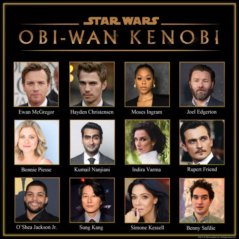 """Obi-Wan Kenobi"" Cast"