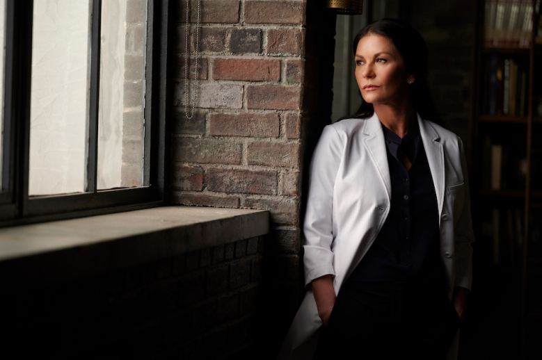 PRODIGAL SON:  Special guest star Zeta Jones in the ìFace Valueî episode of PRODIGAL SON airing Tuesday, March 2 (9:01-10:00 PM ET/PT) on FOX. ©2021 Fox Media LLC Cr: Phil Caruso/FOX