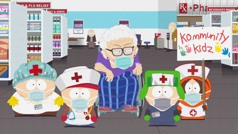 """""""South Park Vaccination Special"""" Comedy Central South Parq"""