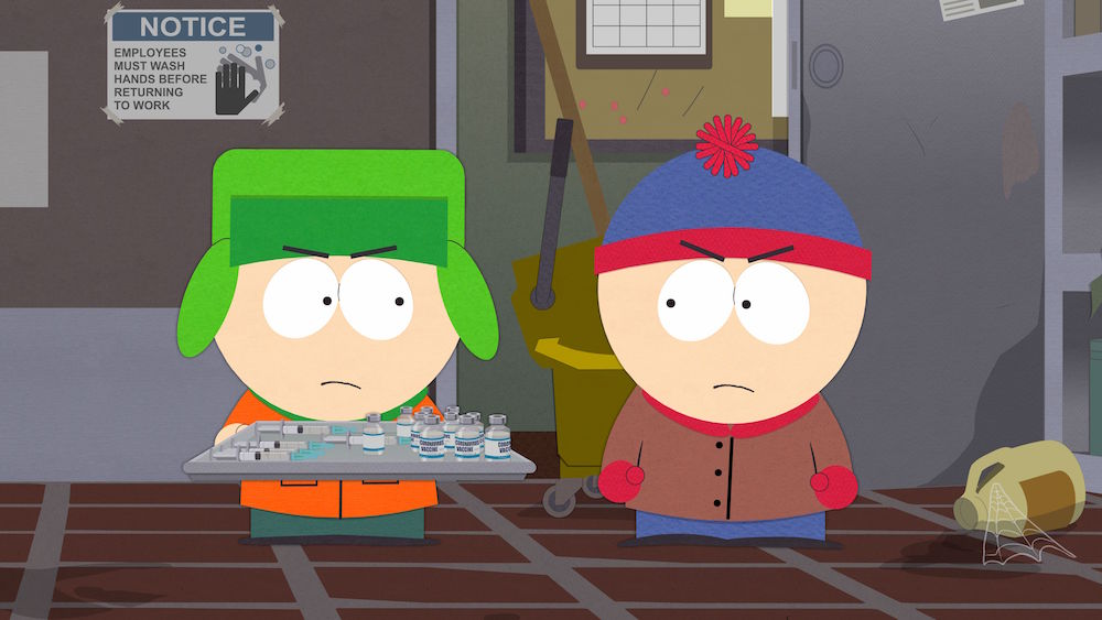"""South Park Vaccination Special"" Comedy Central South Parq"