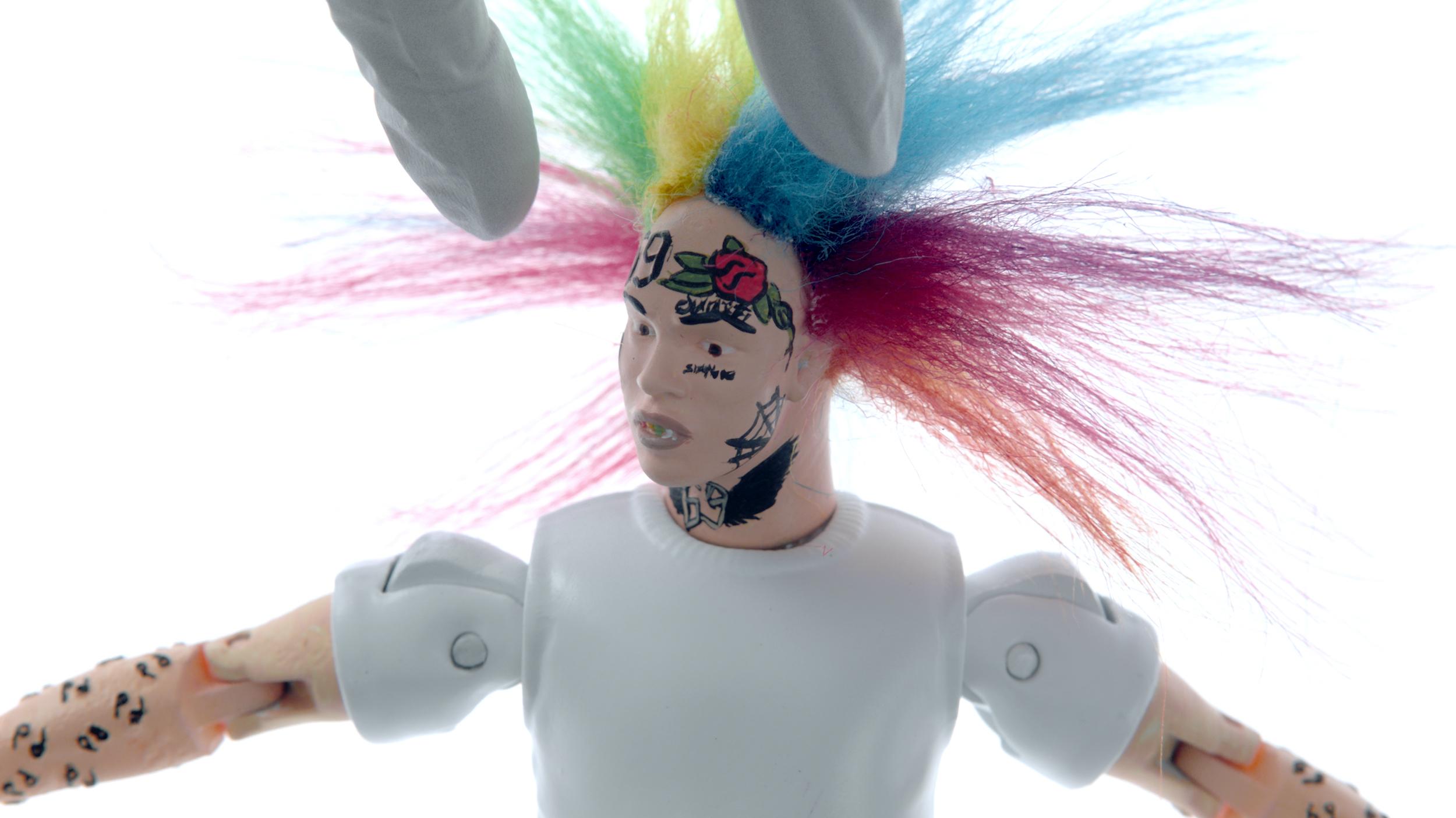 Supervillain Showtime Troll Doll Hair
