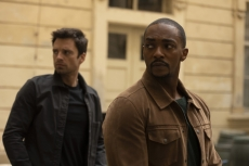 "Sebastian Stan and Anthony Mackie in ""The Falcon and the Winter Soldier"""