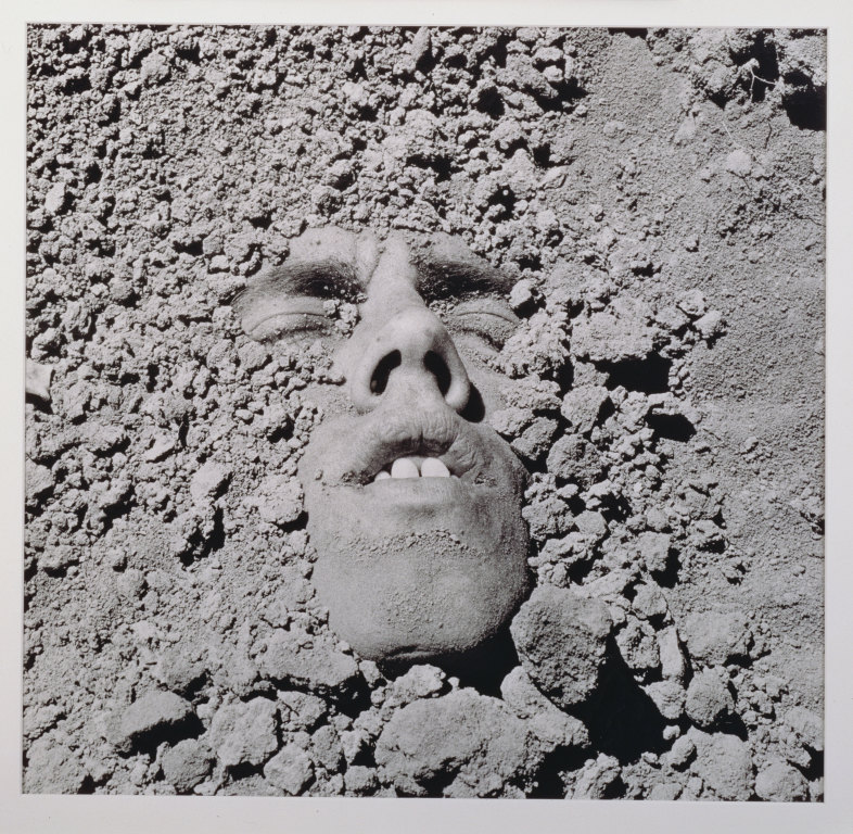 """Untitled (""""Face in Dirt"""")"""