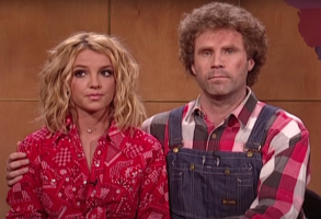 "Britney Spears and Will Ferrell on ""Saturday Night Live"""