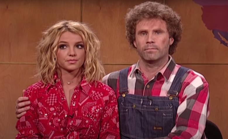 """Britney Spears and Will Ferrell on """"Saturday Night Live"""""""