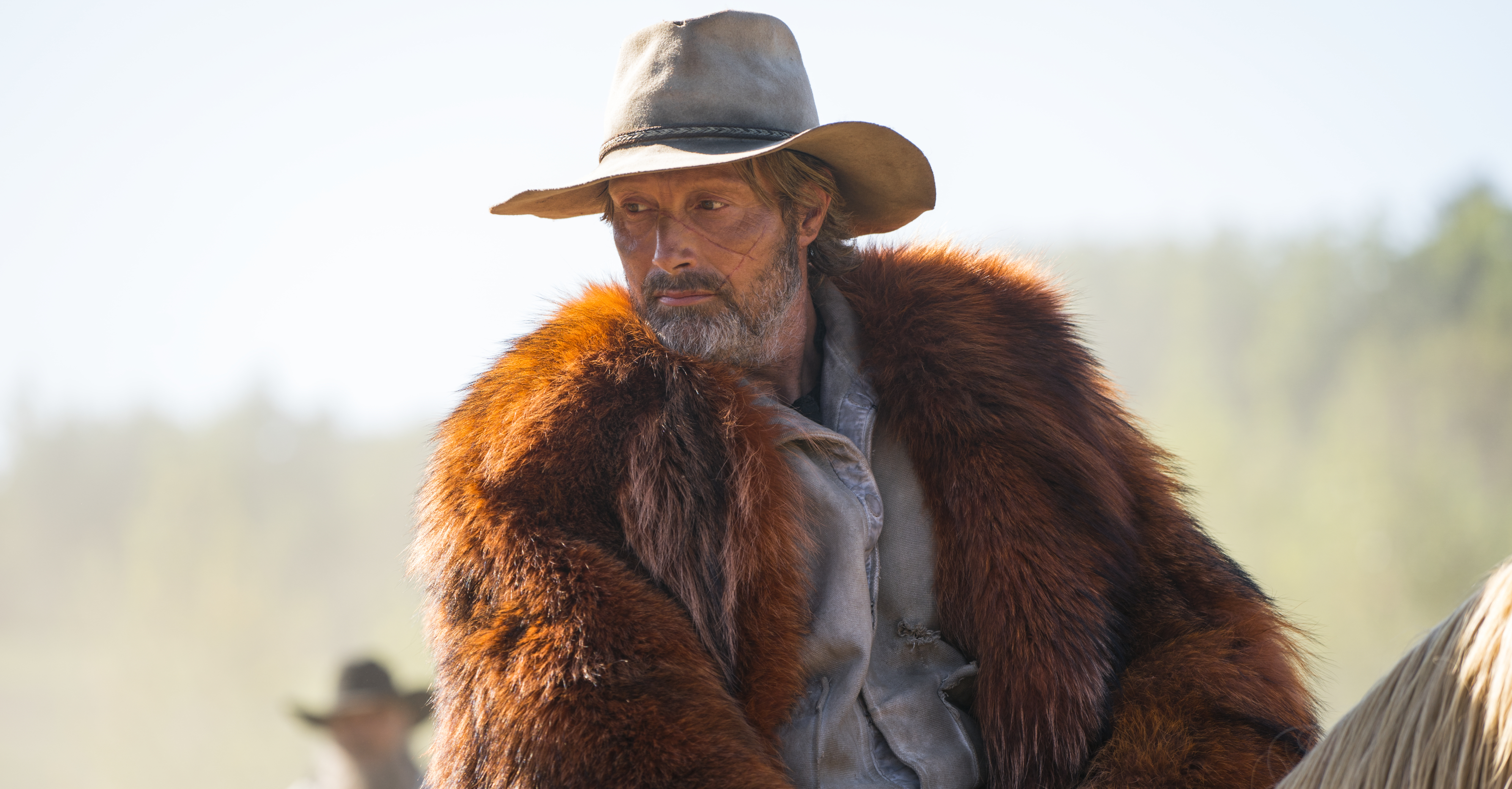 Mads Mikkelsen as Mayor Prentiss in Chaos Walking. Photo Credit: Murray Close