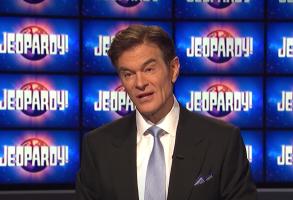 "Dr. Oz on ""Jeopardy!"""
