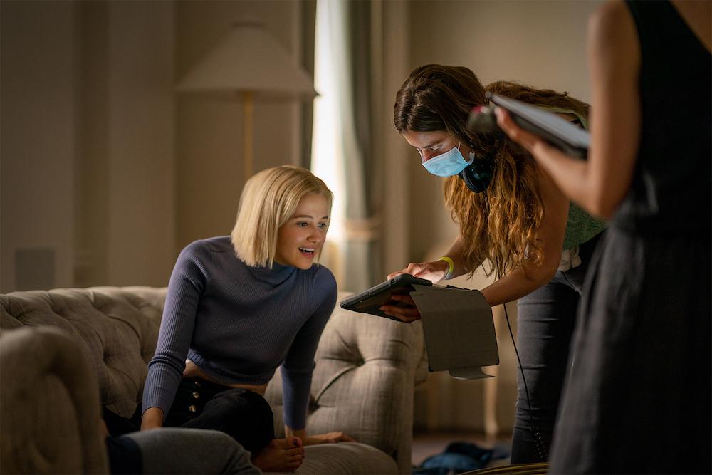 "Julia Goldani Telles on the set of ""The Girlfriend Experience"" Season 3"