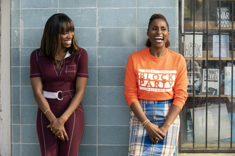 """Yvonne Orji and Issa Rae in """"Insecure"""""""