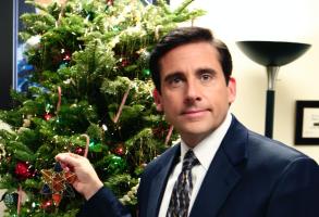 "Steve Carell as Michael Scott on ""The Office"""