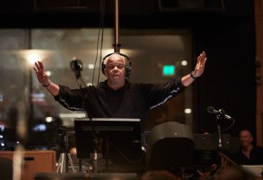 """""""Da 5 Bloods"""" scoring session with Terence Blanchard and Spike Lee on Wednesday, October 30, 2019 at Sony Studios. Photo by Matt Sayles for Netflix@msayleswww.mattsaylesphoto.com"""