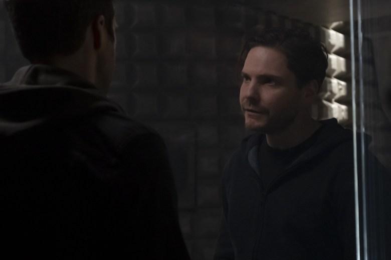 "Sebastian Stan and Daniel Brühl in ""The Falcon and the Winter Soldier"""