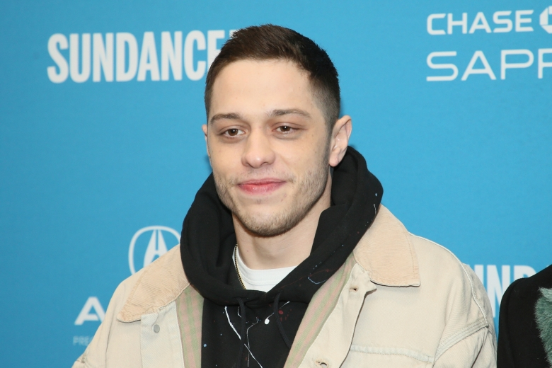 """FILE - This Jan. 28, 2019 file photo shows Pete Davidson during the 2019 Sundance Film Festival in Park City, Utah. Judd Apatow's """"King of Staten Island,"""" starring Davidson, will make its premiere as the opening night film at this year's South by Southwest Film Festival. The festival runs March 13-22. (Photo by Danny Moloshok/Invision/AP, File)"""