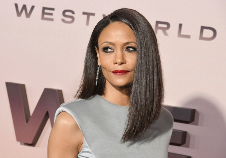Thandie Newton arrives at the HBO's WESTWORLD Season 3 Premiere held at the TCL Chinese Theatre in Hollywood, CA on Thursday, March 5, 2020. (Photo By Sthanlee B. Mirador/Sipa USA)(Sipa via AP Images)