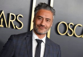 """FILE - This Jan. 27, 2020 file photo shows Taika Waititi at the 92nd Academy Awards Nominees Luncheon in Los Angeles.  Waititi, the New Zealand filmmaker of """"Jojo Rabbit"""" and """"Thor: Ragnarok,"""" will direct a new """"Star Wars"""" film. He will co-write the film with Krysty Wilson-Cains, who wrote the World War I thriller """"1917"""" with Sam Mendes. (Photo by Jordan Strauss/Invision/AP, File)"""