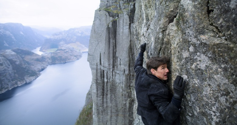 MISSION: IMPOSSIBLE - FALLOUT, Tom Cruise, 2018. © Paramount /Courtesy Everett Collection