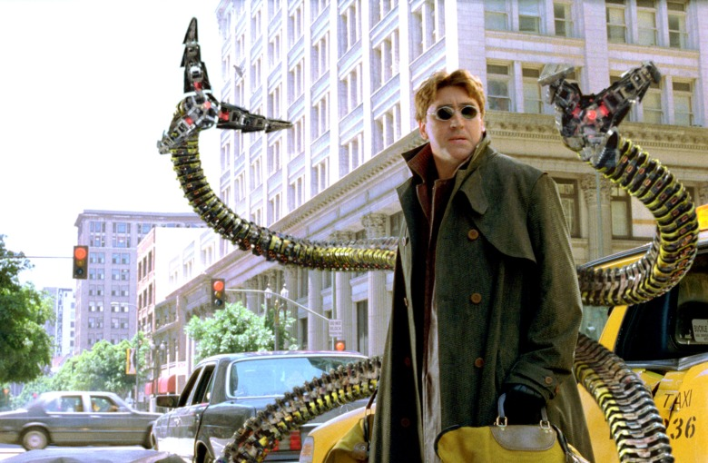 SPIDER-MAN 2, Alfred Molina, 2004, (c) Columbia/courtesy Everett Collection