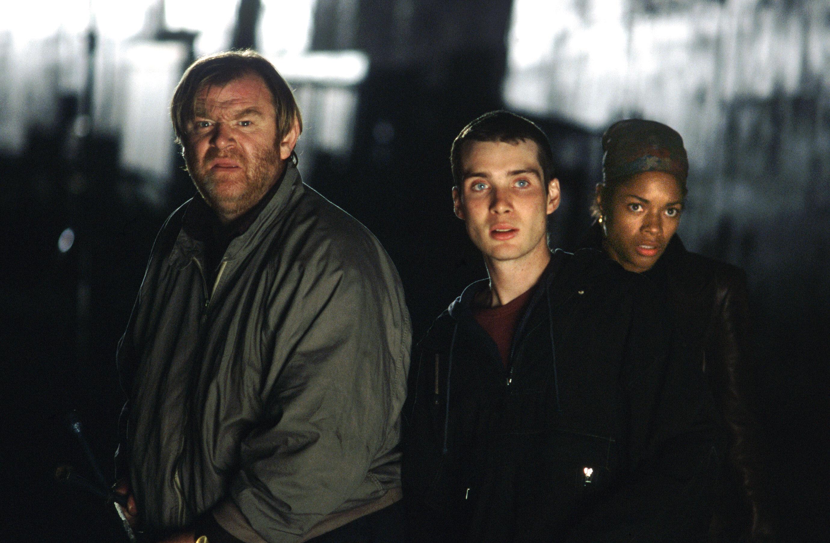 28 DAYS LATER, Brendan Gleeson, Cillian Murphy, Naomie Harris, 2002, TM & Copyright (c) 20th Century Fox Film Corp. All rights reserved.