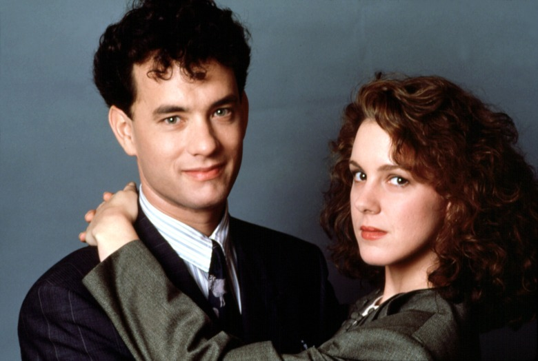 BIG, Tom Hanks, Elizabeth Perkins, 1988. TM and Copyright (c) 20th Century Fox Film Corp. All rights reserved. Courtesy: Everett Collection.
