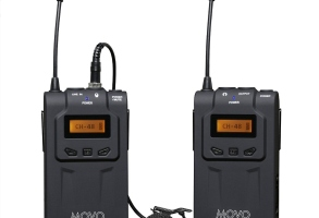 Movo Photo WMIC70 Camera-Mt Wireless Omni Lavalier Microphone System