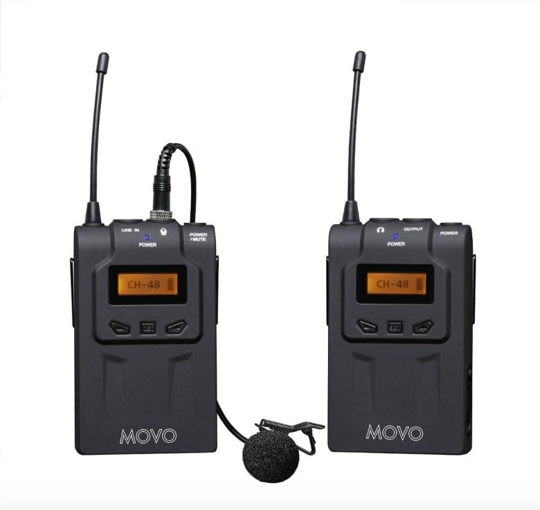 Movo Photo WMIC70 Camera-Mt Wireless Omni Lavalier Microphone System
