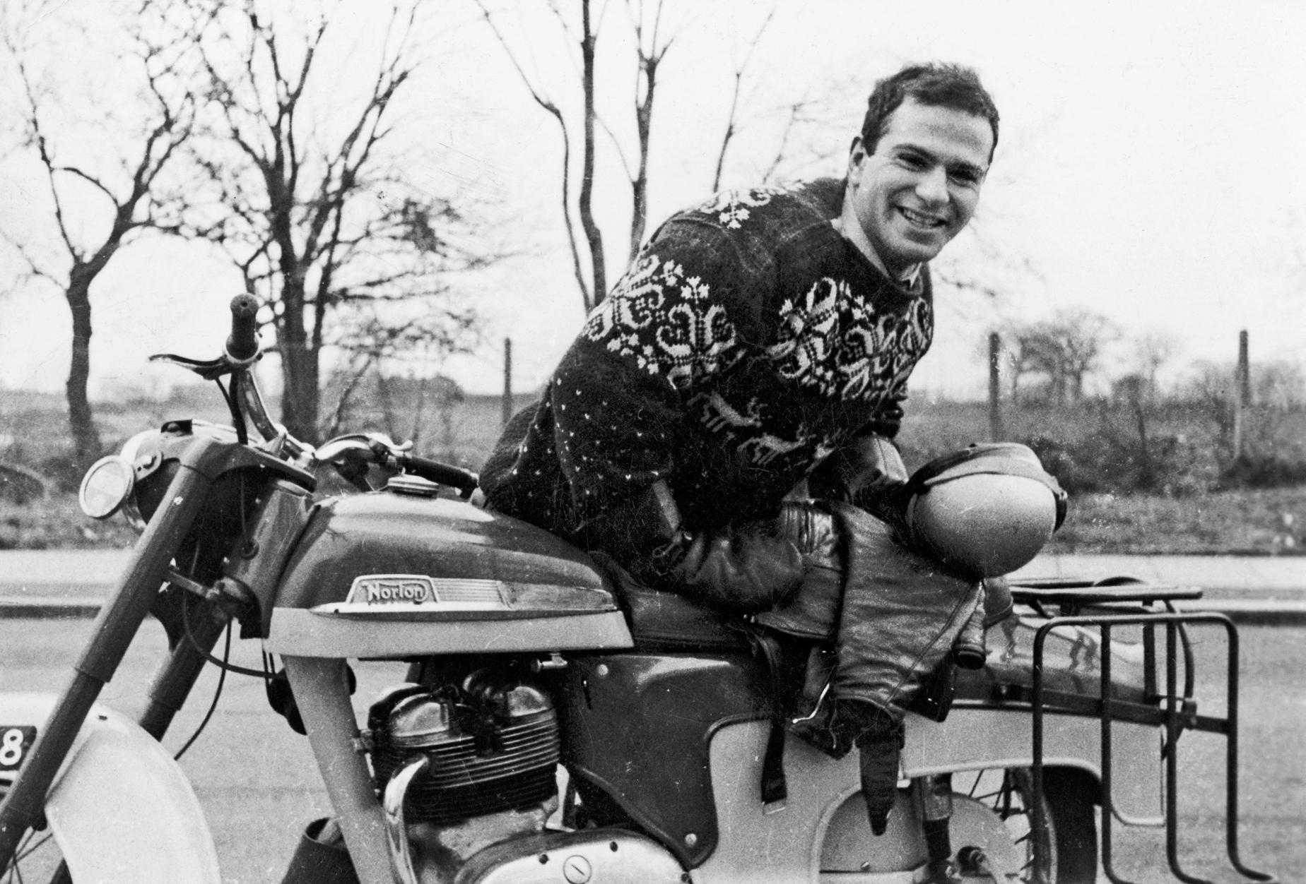 Oliver Sacks Motorcycle