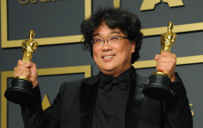 Bong Joon Ho at the 2020 Oscars