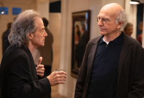 """Richard Lewis and Larry David in """"Curb Your Enthusiasm"""""""
