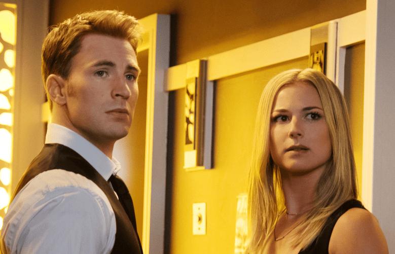 """Chris Evans, Emily VanCamp in """"Captain America: Civil War"""""""