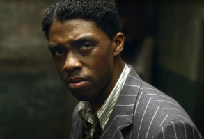 "Chadwick Boseman in ""Ma Rainey's Black Bottom"""