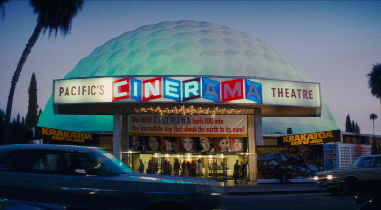 """Cinerama Theatre in """"Once Upon a Time... In Hollywood"""" (2019)"""