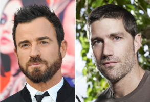 "Justin Theroux, Matthew Fox on ""Lost"""