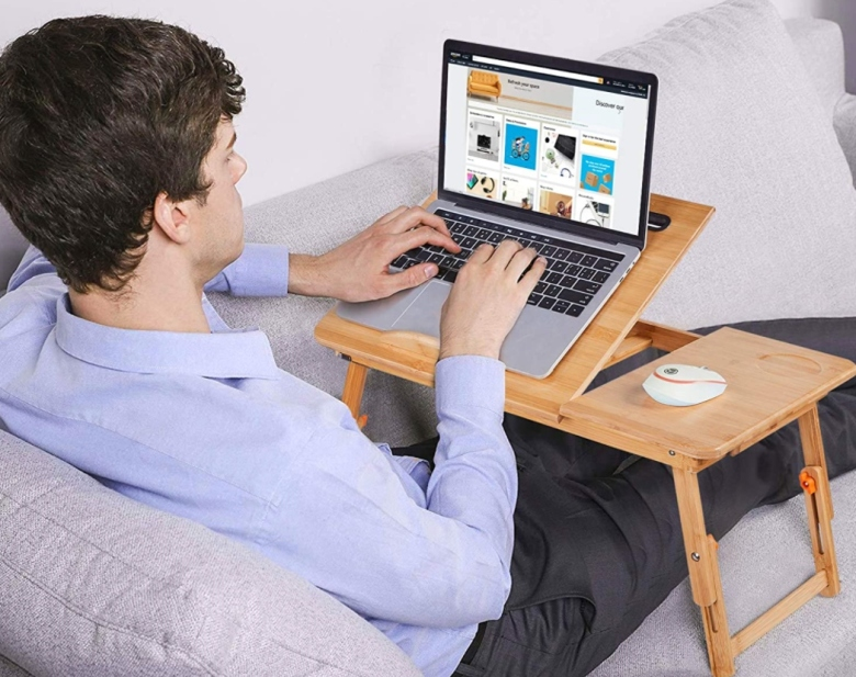 The Best Laptop Tables Stands To, In Bed Desk