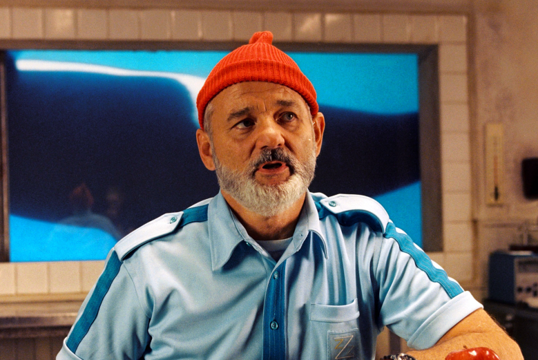 "Bill Murray in ""The Life Aquatic"""