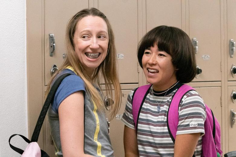"""Anna Konkle and Maya Erskine in """"Pen15"""""""