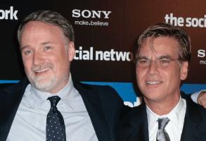 David Fincher and Aaron Sorkin