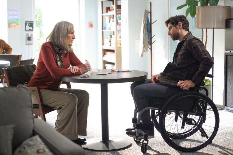 """A MILLION LITTLE THINGS - """"trust me"""" – Sophie is distraught after a disturbing encounter, and Gary calls in Maggie and Regina for support. Meanwhile, Eddie makes an unexpected friend on a new episode of """"A Million Little Things,"""" WEDNESDAY, APRIL 14 (10:00-11:00 p.m. EDT), on ABC. (ABC/Jack Rowand)BOBBI-JEAN CHARLTON, DAVID GIUNTOLI"""