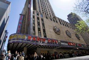 New York City's Radio City Music Hall, Tuesday, May 10, 2011. (AP Photo/Richard Drew)