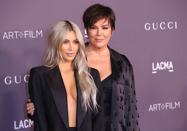 Kris Jenner, left, and Kim Kardashian West arrive at the LACMA Art + Film Gala at the Los Angeles County Museum of Art on Saturday, Nov. 4, 2017 in Los Angeles. (Photo by Willy Sanjuan/Invision/AP)